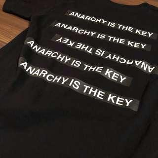 Supreme x Undercover Anarchy is Key Tee