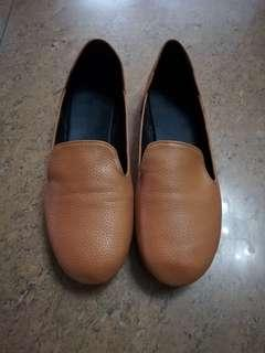 Brown flats Size 9
