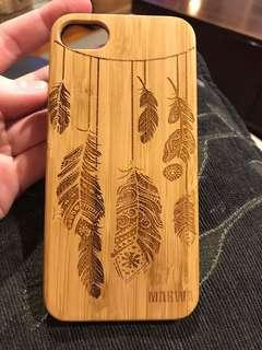 Wooden iPhone 7 phone case