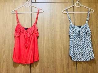 3 pcs blouse (aero and mango)