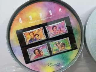 香港影星2郵票套裝