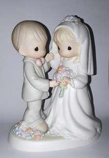Precious Moments Figurines - I Give You My Love Forever True