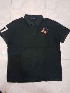 polo shirt POLHAM black