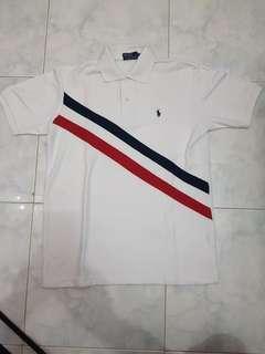 polo shirt  ralph lauren original white