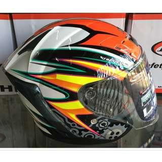 Helmet MHR OF622 Beatz Gear With Visor