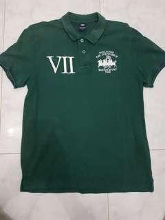 polo shirt POLHAM size 100 setara M original