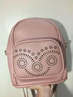 REPRICED Pastel Pink Mini Backpack