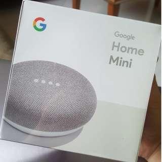 Google Home Mini (BRAND NEW, SEALED)