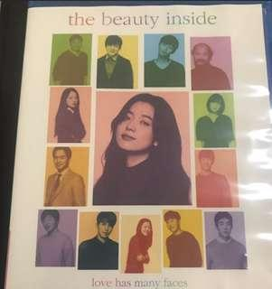 Beauty Inside korean Movie blueray blue ray