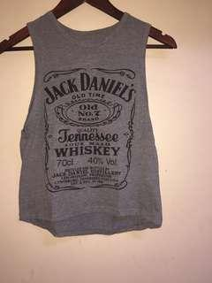 Jack daniels top not really from JD