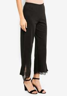 Straight cut lace pants