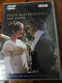 傲慢與偏見Pride and Prejudice, DVD