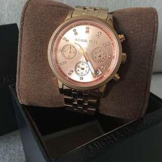 MK Rosegold Watch (Auth)