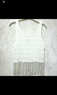 H&M Fringe Top