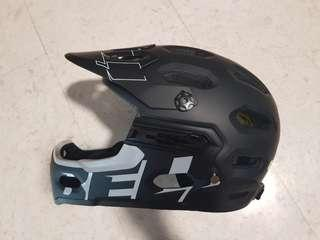 Bell Super 3R MIPS Suze L (58-62) - Full face Helmet with detachable chin guard