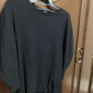 Zara Top with puffy sleeves