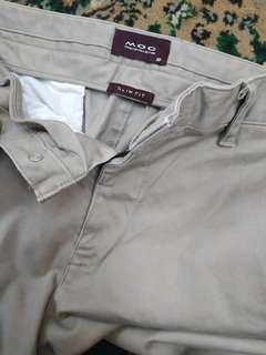 Celana cotton strecth Moc