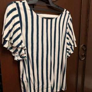 Mango stripes top