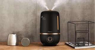 4L Deerma Matte Black Humidifier