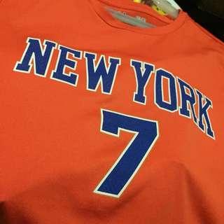 NBA Shirt NewYork Knicks #7 (Unisex)