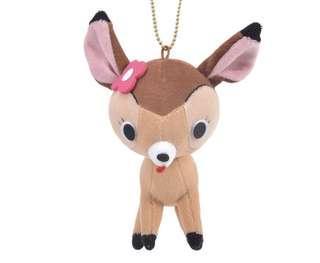 Disney Bambi key Chain 斑比公仔吊飾