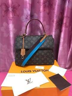 LV Clunny BB mono blue