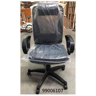 【弘旺二手家具生活館】全新/庫存 高背大型黑色網椅 電腦椅 活動椅 主管椅 吧台椅-各式新舊/二手家具 生活家電買賣