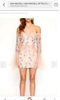 Hire/Buy Alice Mccall Dress RRP $450