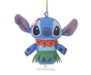 Disney stitch key Chain 上鍊會走動的史迪仔公仔吊飾