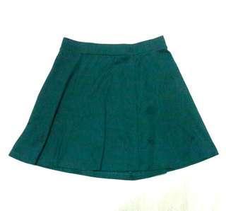 Calliope Green Skater Skirt