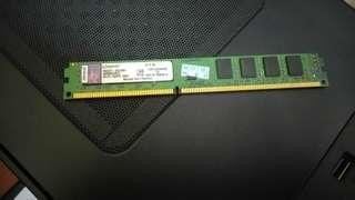 4GB DDR3 Kingston Ram