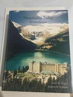 HOSPITALITY TODAY AN INTRODUCTION BY ROCCO M. ANGELO