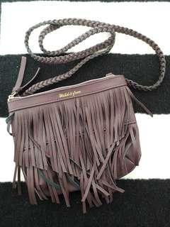 Sling bag Purple H&M