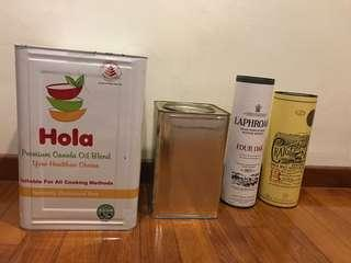 FREE Aluminium Kopi-Huung containers and Whiskey Cartons