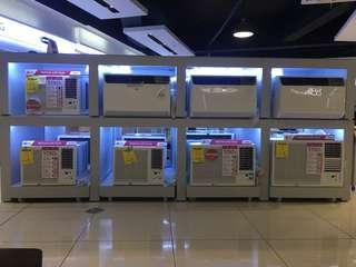 lg aircon inverter and non inverter window type