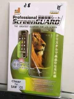 Samsung C5 屏幕貼
