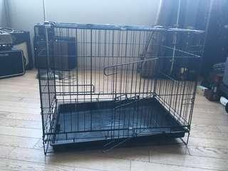 Dog Cage - foldable and collapsible