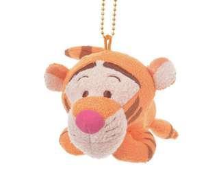 Disney Tiger Key chai  尾巴會左搖右擺的跳跳虎公仔吊飾