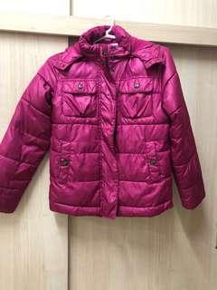 GAP kids winter puffer jacket (with fur hooded)