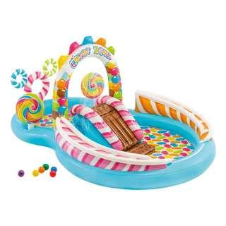 🔶 Battery Pump Included 🔶IN STOCKS 🔶Intex Candy Zone Inflatable Pool Play Center