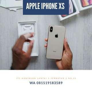 Apple iPhone XS 64 GB Smartphone Gold Promo Free 1X Angsuran