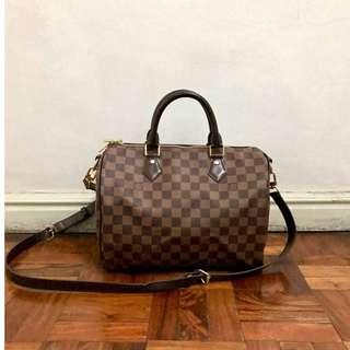 Louis Vuitton Speedy 30 Damier Ebene bag 2b85e7f6c7b5