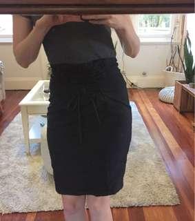 Seed Heritage black skirt size 8