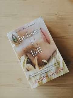 Before I Fall, Novel by Lauren Oliver