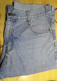 Blue Maong Pants for Men-Size 34