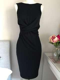FORECAST black dress in sz 6