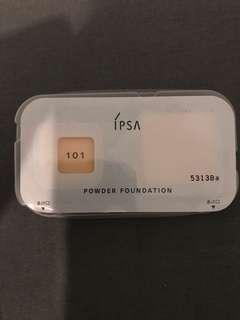 Ipsa powder foundation sample
