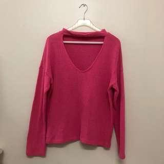 ZARA TRAFALUC Loose Fit Knitted Top