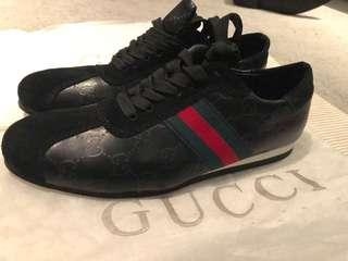 Gucci Black Mens Sneakers Size EU 41