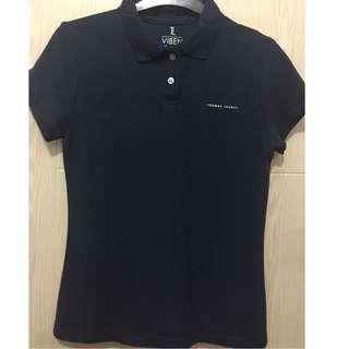 Polo Shirt Navy Blue- Thomas Laureti preloved